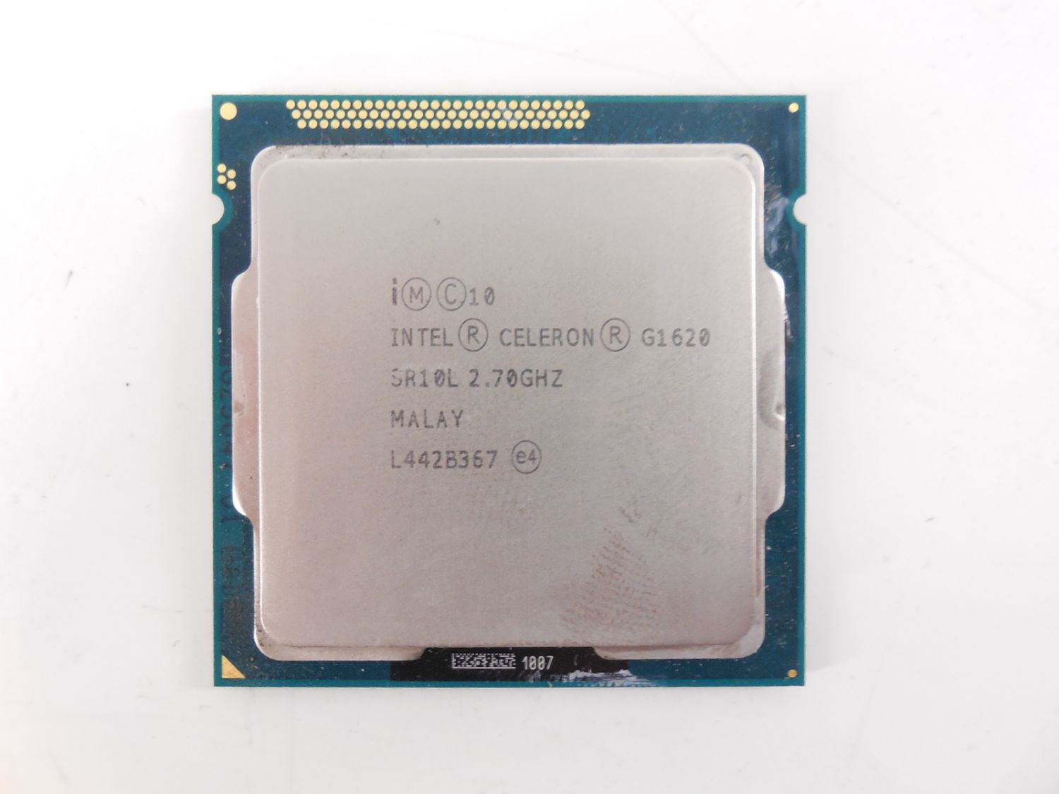 Intel Celeron G1620 Ivy Bridge (2700MHz, LGA1155, L3 2048Kb) (Б/У)