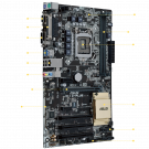 ASUS H110-PLUS (LGA1151, 2xDDR4 2133 up to 32GB, ATX) (Б/У)