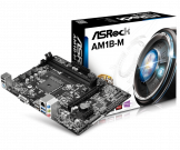 Asrock AM1B-M (AM1, 2xDDR3 1600 up to 32GB, D-Sub, mATX) (Б/У)