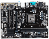 Gigabyte H110M-S2PV (LGA1151, 2xDDR4 2400 up to 32GB, VGA, DVI, ATX) (Б/У)